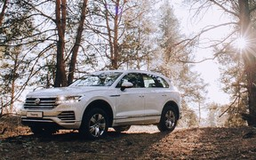 «Спеціальне ціноутворення на обмежений список Volkswagen Touareg продовжено. Вигода до 19 506 USD»