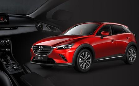 Спеціальні пропозиції на Mazda СХ-3, Mazda СХ-5 та Mazda СХ-9 лише до 10 квітня 2020 року