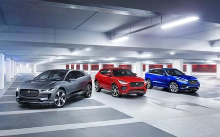 Специальное предложение на автомобили Jaguar SUV