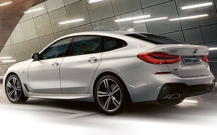 Специальные предложения на автомобили BMW 6 серии Gran Turismo.