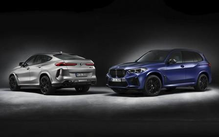 Спецверсию BMW X5 M и X6 M Competition привезут в Украину. Что нового?