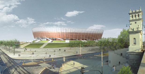 Стадион в Варшаве могут не успеть построить к ЕВРО-2012