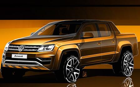 Стало известно каким будет новый Volkswagen Amarok