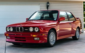 Старенькую BMW M3 оценили дороже новой M8