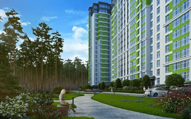 Стартовала продажа квартир в 1-2 домах второй очереди «ЖК City Park»