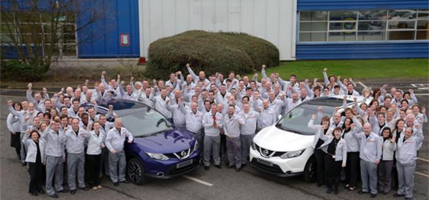 Стартовало производство Nissan Qashqai нового поколения