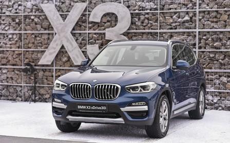 Стартує тест-драйв BMW X3 нового покоління.