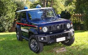 Стоять, бояться! Полиция получила партию автомобилей Suzuki Jimny