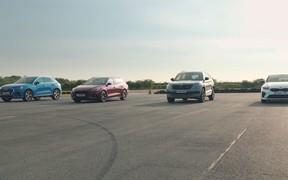 Странные дела. Четыре абсолютно разные машины сравнили в скорости. ВИДЕО