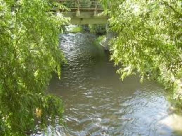 Строители повредили устье реки Лыбидь