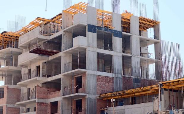 Будівельники закінчили монолітні роботи в підземному паркінгу ЖК «LAKE HOUSE»