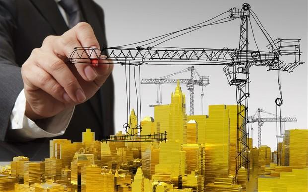 Строительные работы продолжаются на 50% строящихся объектов