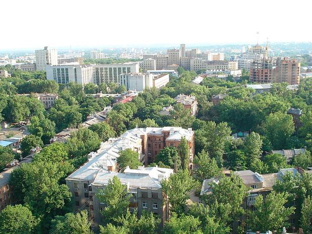 Строительство дороги в харьковском парке Горького грозит скандалом