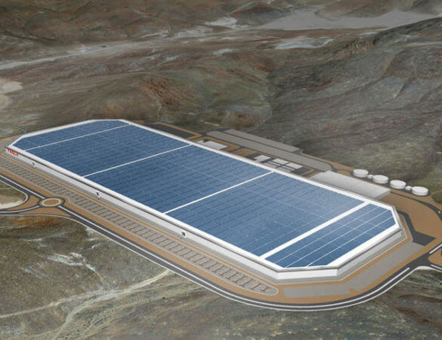 Строительство «гигафабрики» Tesla закончат к 2020 году