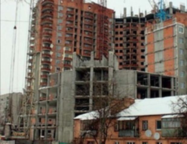 Строительство не думает возрождаться