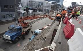 Строительство развязки на Шулявском мосту начнут только летом