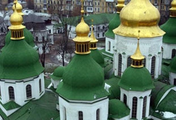 Строительство вокруг Софии Киевской приостановлено