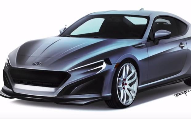 Subaru BRZ возвращается! Каким будет второе поколение спорткара? ВИДЕО
