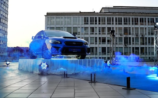 Subaru WRX STI - душа атлета, серце чемпіона