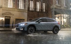 Subaru XV нового поколения представлен в Украине