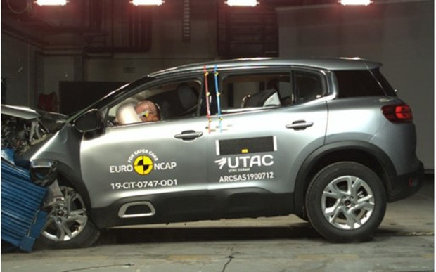 Свежевыжатые: краш-тесты Citroen C5 Aircross  и Range Rover Evoque