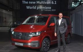 Світова прем'єра Volkswagen T6.1.