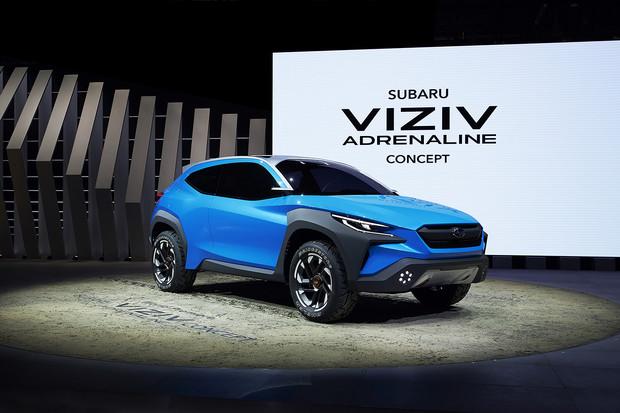 «Світова презентація Subaru Viziv Adrenaline Concept»