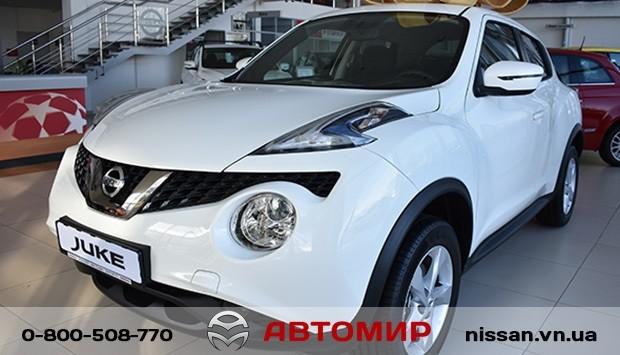 Святкова пропозиція від Автомир Nissan на оновленний Juke