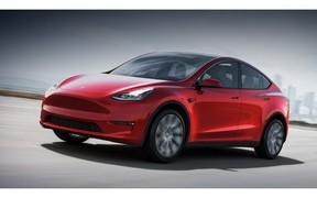 Tesla представила новий електромобіль Model Y
