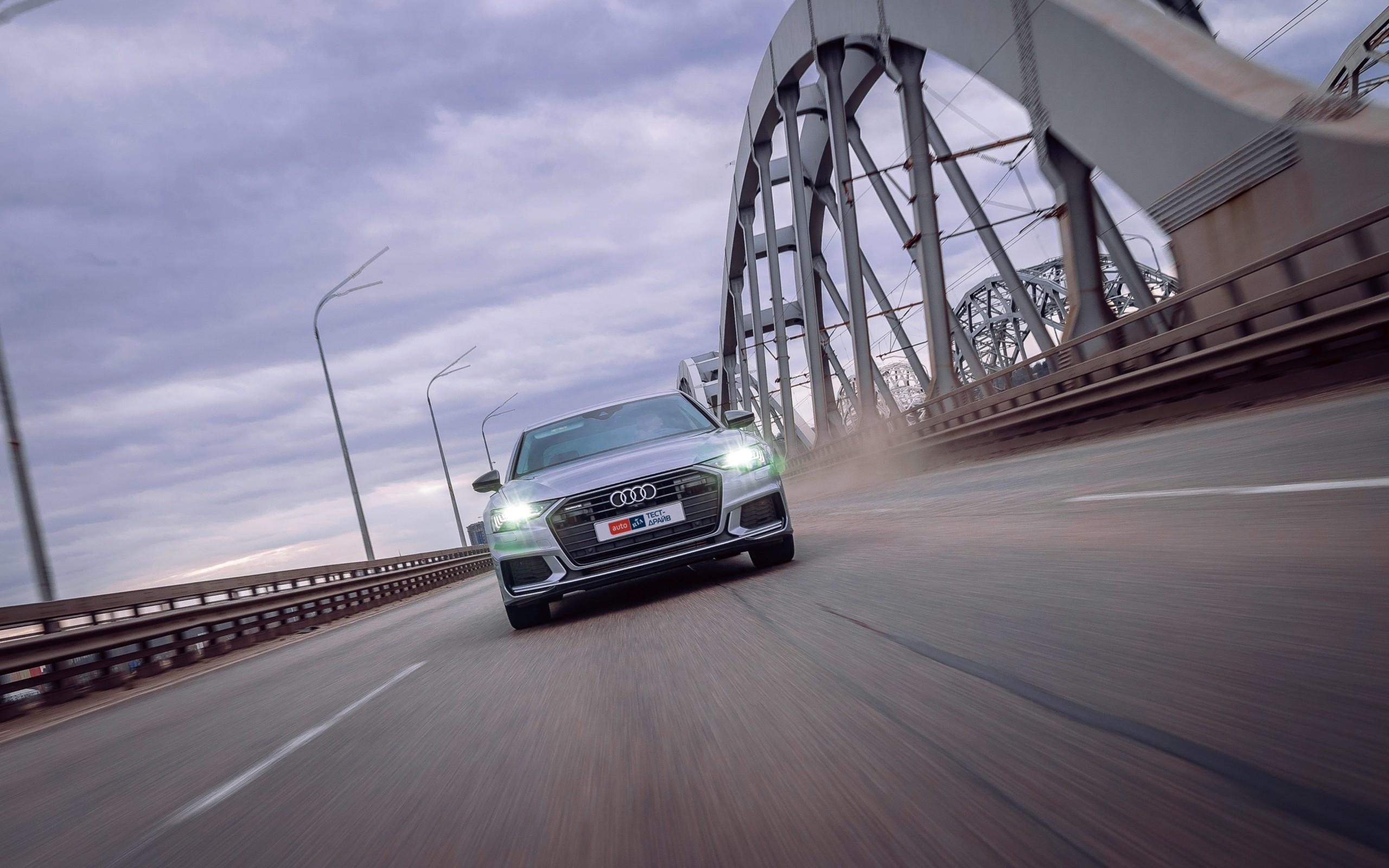 Тест-драйв Audi A6: Ні слова про цінник!