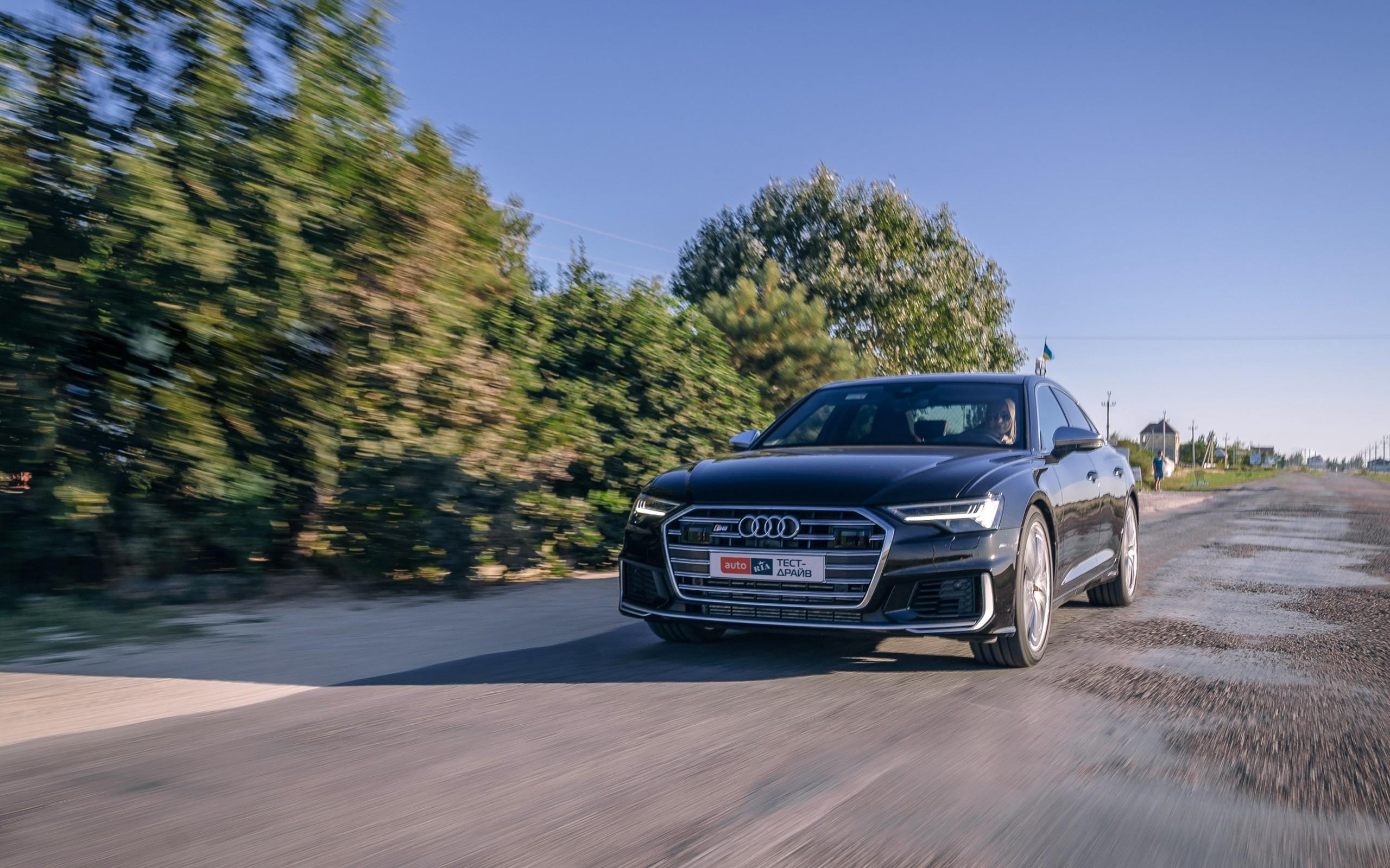Тест-драйв Audi S6: Буква особого назначения