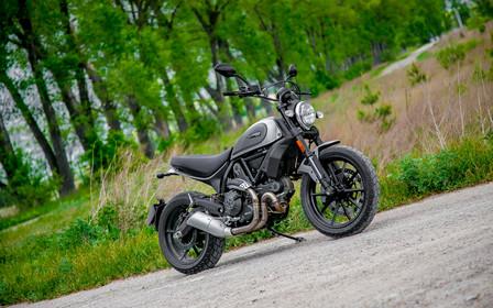 Тест-драйв Ducati Scrambler: Тянет на классику