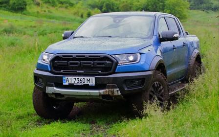 Тест-драйв Ford Raptorпо бездоріжжю