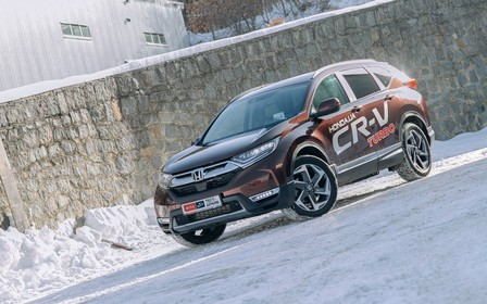 Тест-драйв Honda CR-V Turbo: Дай миллион!