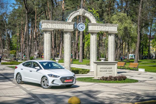 Тест-драйв Hyundai Elantra в Украине