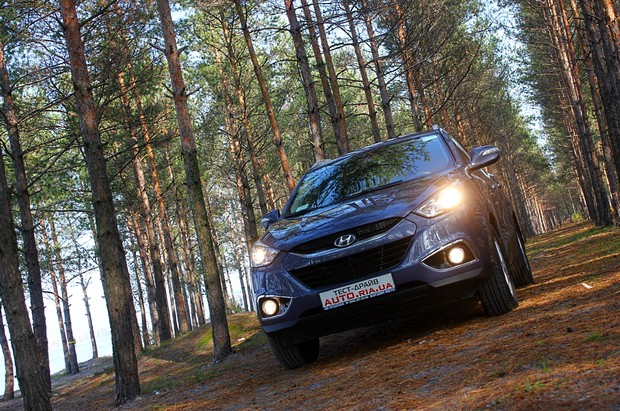 Тест-драйв Hyundai ix35 2012: уже не нов, но бодр и весел