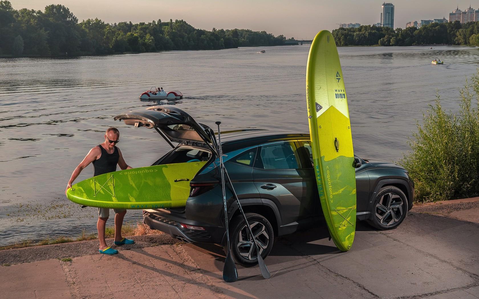 Hyundai Tucson Hybrid: прикинувся електромобілем