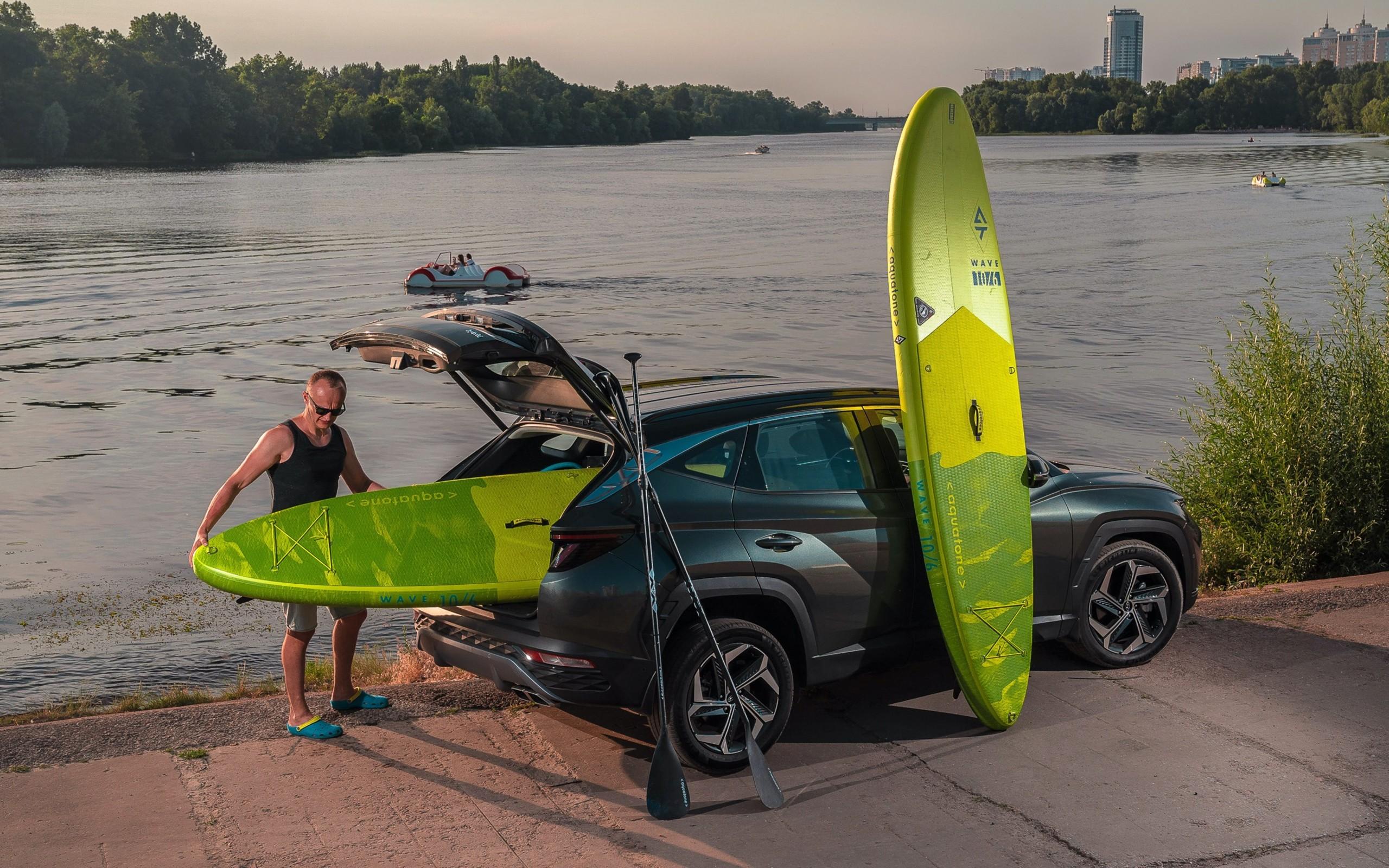 Тест-драйв Hyundai Tucson Hybrid: притворился электромобилем