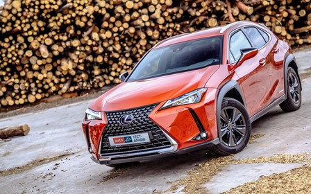 Тест-драйв Lexus UX: Норма рентабельности
