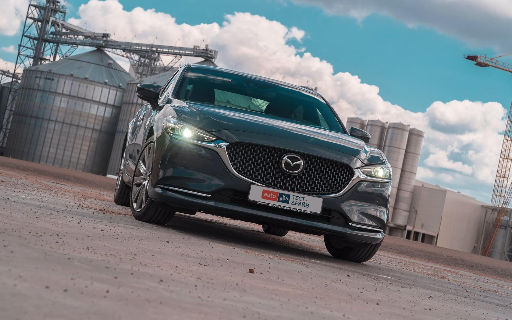 Mazda 6 Turbo: вона тебе перевіряє!