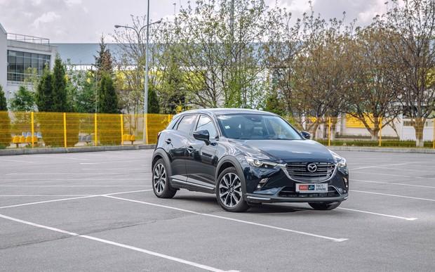 Мазда СХ-3 2019 тест драйв и обзор Mazda CX-3: Тест-драйв Mazda CX-3: Придется договариваться