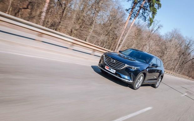 Мазда СХ-9 2019 тест драйв и обзор Mazda CX-9: Тест-драйв Mazda CX-9: Скрытый талант