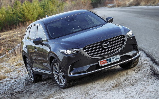 Тест-драйв Mazda CX-9