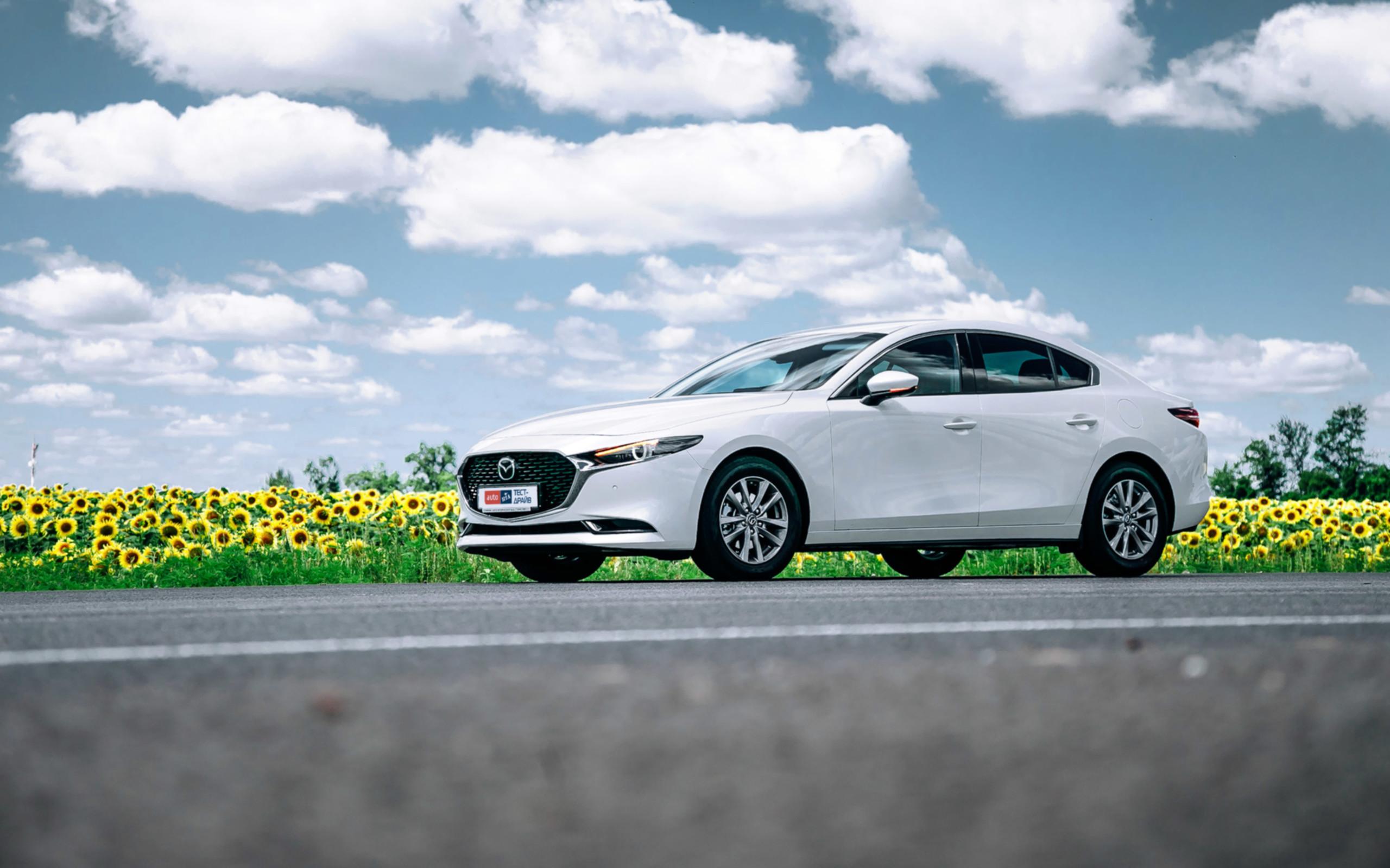Седан Mazda3: Новый мировой порядок