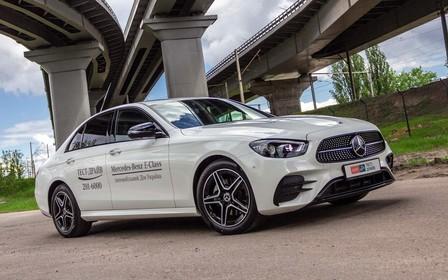 Тест-драйв Mercedes-Benz E 220 d 4MATIC: GT з найкращим у світі дизелем