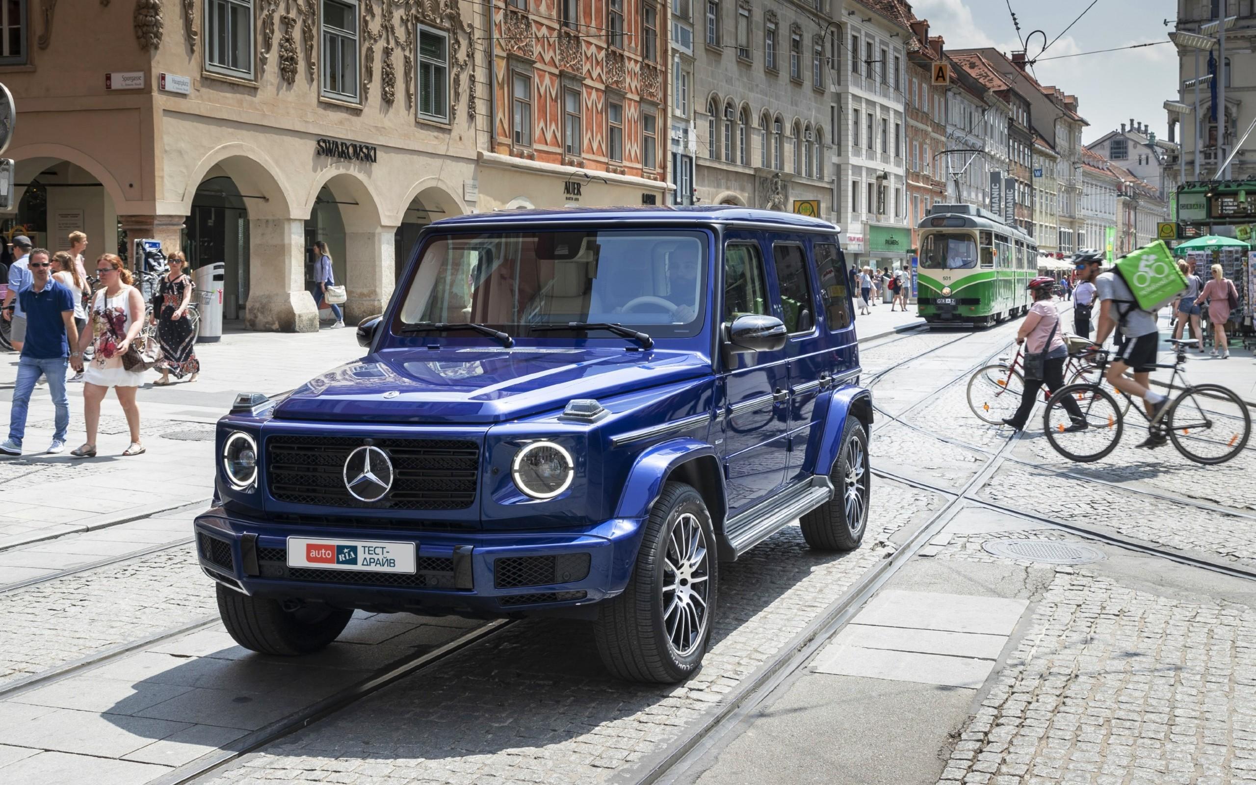 Mercedes-Benz G 500. Новый «кубик», старый блеск