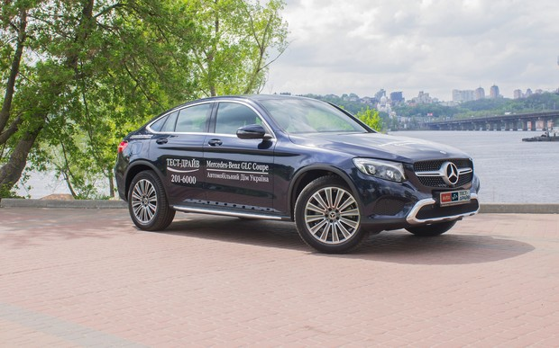 Тест-драйв Mercedes-Benz GLC Coupe