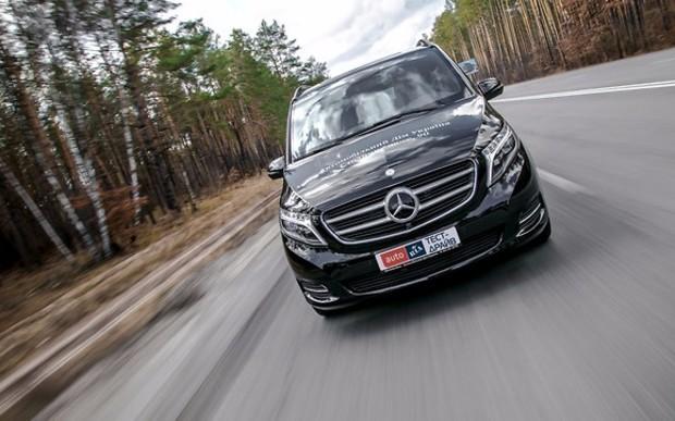 Тест-драйв Mercedes-Benz V250d 4Matic: Класс — буржуазия