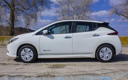 Тест-драйв Nissan Leaf