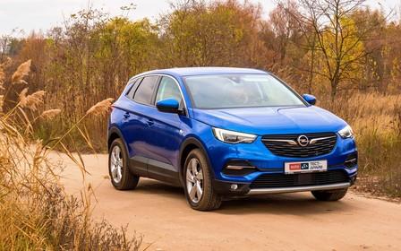 Тест-драйв Opel Grandland X. Правильная подача